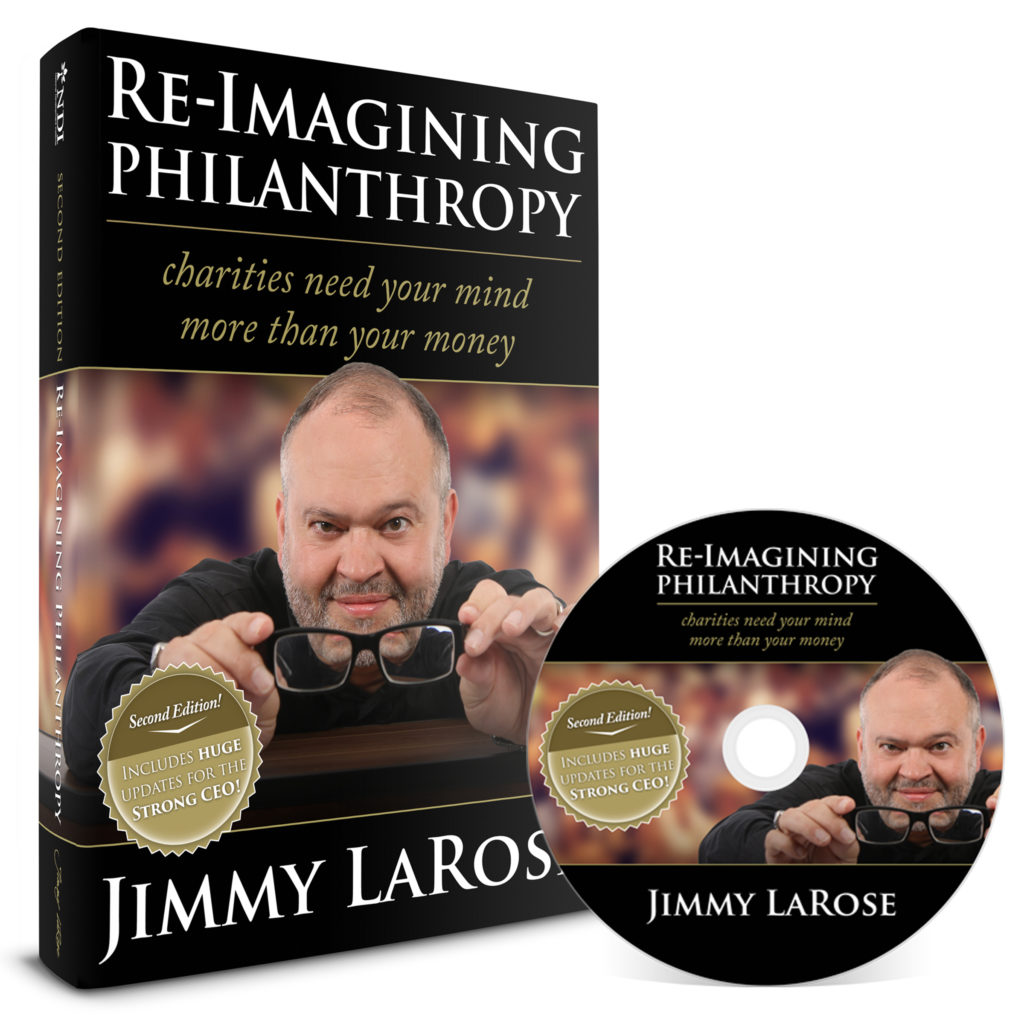 JIMMY LAROSE - RE-IMAGINING PHILANTHROPY - AUDIO - SECOND EDITION