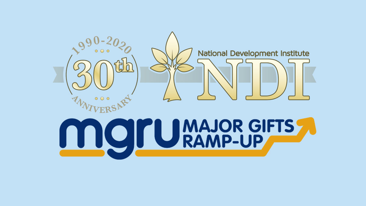 Major Gifts Ramp-Up Celebrates 30th Anniversary